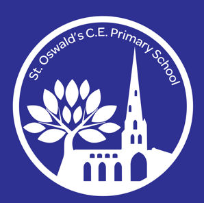 St Oswald's CofE Infant School logo